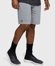 NWT Under Armour Men's UA Rival Jersey Training Shorts Gray Heather XL