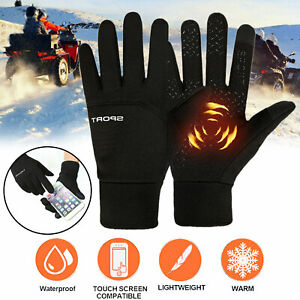 Sport Outdoor Riding Gloves Winter Warm Windproof Anti-slip Thermal Touch Screen
