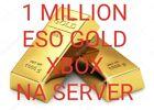 ESO XBOX NA  1 million gold