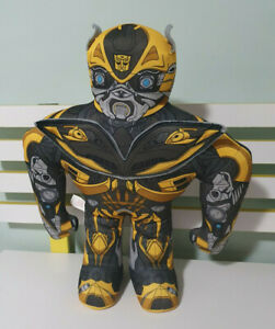 Age of Extinction Bumblebee 17 Inch Plush Wrestling Buddy by Transformers Talks!