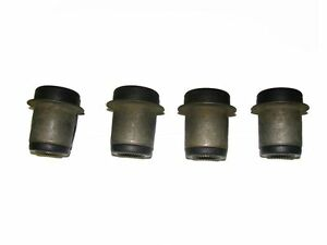 4 Front Upper Control Arm Bushings 1958 Pontiac with Air Suspension NEW SET