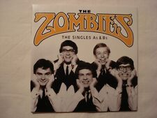 2 CD: THE ZOMBIES THE SINGLES As & Bs THE TROGGS BEATLES HOLLIES DAVE DEE M.MANN