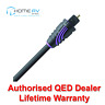 QED Profile Optical Digital Audio Compact Cable Lead 1m - QE2709