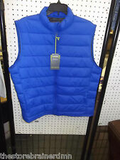 TEK GEAR - MEN - VEST - BLUE LUSTER - SIZE LARGE  (AC-20-249)