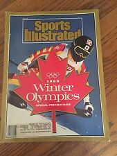Sports Illustrated Magazine 1988 Winter Olympics Special Issue Brian Leetch New