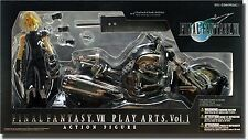 Kotobukiya Final Fantasy VII Cloud Strife & Hardy Daytona Action Figure Set