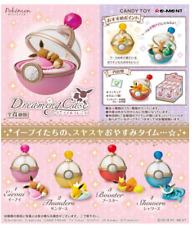 Pokemon Dreaming Case  Pikachu & Eevee Friends 4 type set Japan import Re-Ment