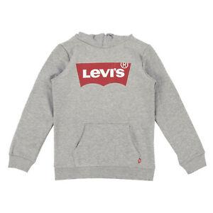 LEVI'S Kinder Kapuzenpullover 8E8778-078 Grey Heather / 104 / Hoodie,Sweater