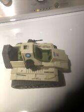Vintage 1986 GI Joe Sgt Slaughter Triple T Tank Incomplete