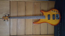 Ibanez SRX 500 4 String Bass Guitar (with custom hard shell case)