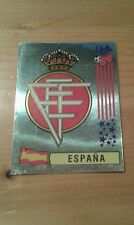 N°191 BADGE LOGO FOIL # ESPANA PANINI USA 94 WORLD CUP ORIGINAL 1994
