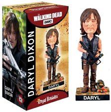 "ROYAL BOBBLES WALKING DEAD DARYL DIXON 8"" BOBBLE HEAD FIGURE BRAND NEW IN BOX"