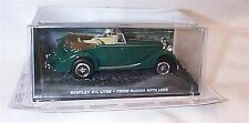 James BOND AUTO COLLECTION Bentley 4,25 LITRI dalla Russia con amore MINT BOXED