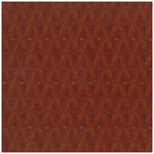 Quest Torchlight Red Geometric INCASE Crypton Upholstery Fabric 0267832