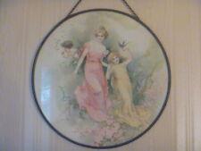 "New listing Antique Chimney Flue Cover Victorian Girls Cherub 9 1/2"""