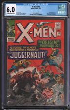 X-Men #12 7/65 Marvel CGC 6.0 1st Juggernaut Professor X Origin 042721DBCG