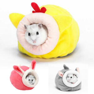 Hamster Bedding Warm Cosy Fluff Nest Small Animal Mice Sleeping House Cave Bed