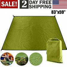 Tent Tarp Hammock Shelter Rain Sun Shade Camping Beach Picnic Pad Mat Waterproof