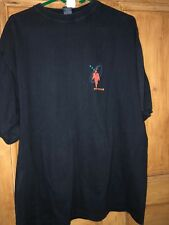 Genesis 1998 Calling All Stations In Europe Tour T Shirt  Cool 48 Inch Chest