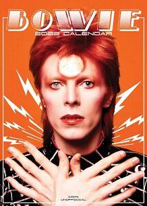 David Bowie : 2022 A3 Wall Calendar : Pop Icon & Music Legend