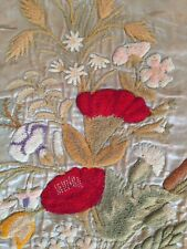 A Panel Of Victorian Needlework