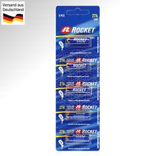 5x Alkaline Batterie A27 12 Volt 12V MN27 A27S LR 27A GP27A L828 CA22 EL812 LR27