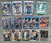 2019 Karl Anthony Towns 15-Card Lot incl Multi-Color Prizms