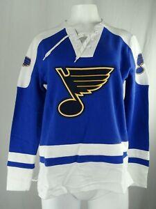St. Louis Blues NHL Majestic Women's Lace-Up Sweatshirt