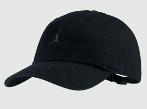 Jordan Jumpman Heritage 86 Black Floppy Hat Baseball Cap Unisex - Adjustable