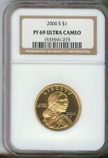 2006-S SAC$1 DC (Proof) Sacagawea Dollar NGC PF69 ULTRA CAMEO 1533591-273