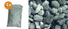 4 Sacs de 25 kg cailloux de marbre Alpes Verts 40/60 mm galets pierres jardin