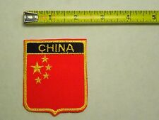 China National Country Flag Iron On Patch Emblem