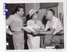 Frank Sinatra Gina Lollobrigida John Sturges VINTAGE Photo Never So Few