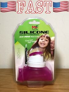 MF 320mL Outdoor Sports Folding Bottle Silicone for Cycling Bike Water Bottle