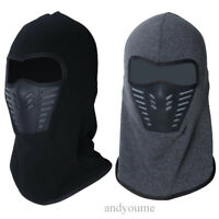 Sport Motorcycle Thermal Fleece Balaclava Neck Winter Ski Full Face Mask Cap Hat