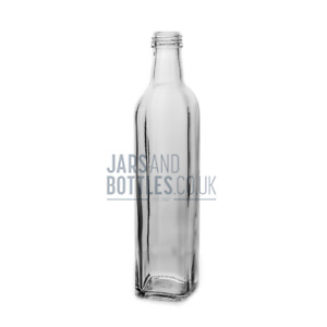 500ml Marasca bottle prefect for Dressings, Oils & Sauces  (Inc 31.5mm caps)
