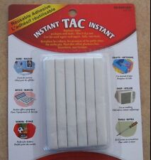 Instant Tac Reuseable Adhesive Sticky Tac New Home Office School Crafts White