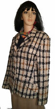 VINTAGE DAKS SIGNATURE GREAT BRITAIN Wool Boucle Jacket women Size GB12