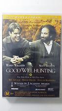 Good Will Hunting - Deluxe Widescreen Edition (1997) Matt Damon R4 DVD