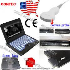 Promotion CE Portable laptop machine ultrasound scanner 3.5 Convex,bag,us stock