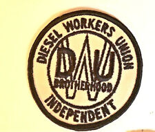 Diesel Workers Union (DWU) Indepentent old style member patch 3 in dia #4040t