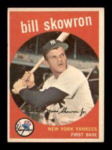 1959 Topps Set Break # 90 Bill Skowron EX *OBGcards*