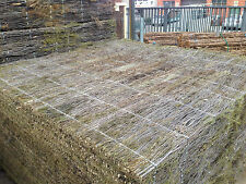 Brush Panel Fencing Screen 1.8m x 1.8m x 50mm Thick PREMIUM GRADE