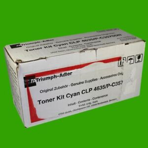 Toner cyan TA /  UTAX CLP 4635 C3570DN original 4463510111 TT02HGCTA0001