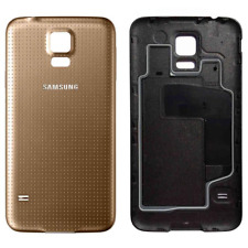 Replacement Back Door Battery Cover for Samsung Galaxy S5 SM-G900 Gold