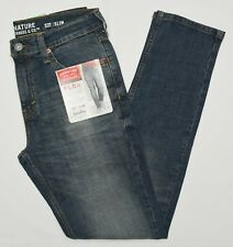 Signature By Levi Strauss & Co. #10282 NEW Men Modern Fit Stretch S37 Slim Jeans