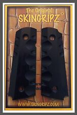 "1911 Grips - ""OPERATOR"" Compact Colt Kimber  (Black) -SkinGripz !"