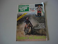 MOTOSPRINT 2/1980 PROVA TEST MOTO KTM RV 125 CROSS/SERVIZIO LAVERDA 750 SF