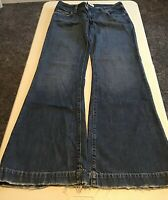 Women's Abercrombie & Fitch Bell Bottom Flare Jeans Size 8L