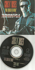GUNS N ROSES you Could Be Mine LIMIT 2TRX CARD SLEEVE Europe CD Single USA Seler